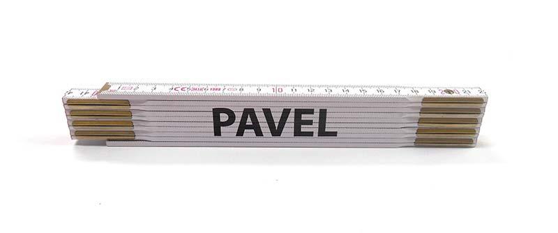 Skladací metr PAVEL, 2 m