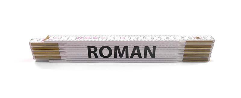 Skladací metr ROMAN, 2 m