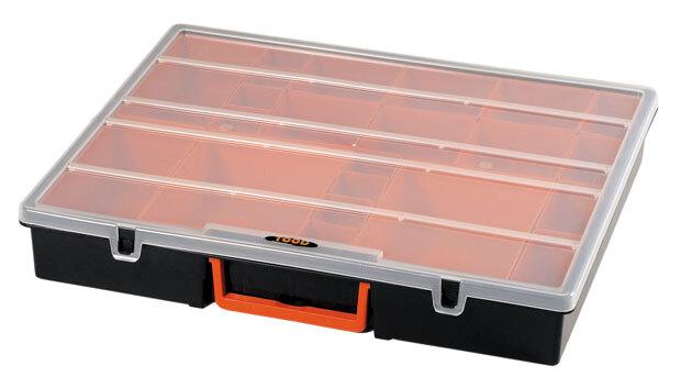 Organizér 420x350x70 mm, 22 přihrádek, plast