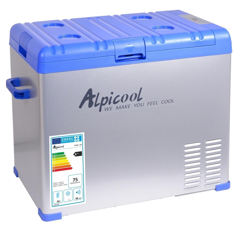 Chladící box do auta 230/24/12V BLUE, 50 litrů, -20 °C - COMPASS