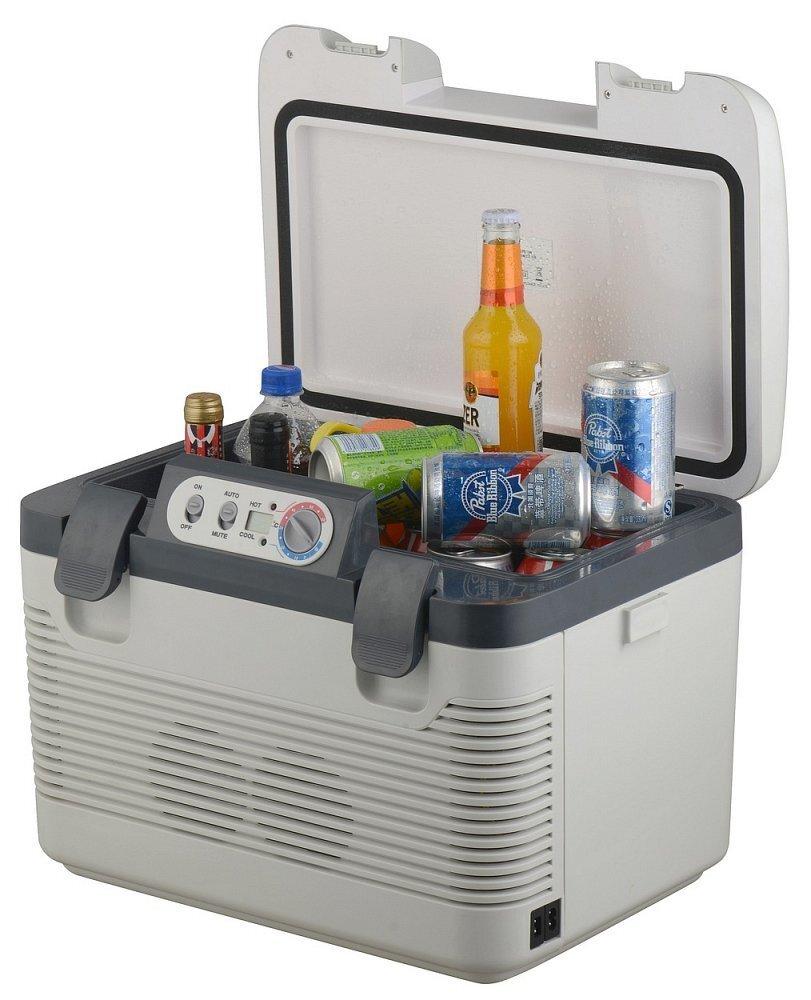 Chladící box do auta 220/24/12V DOUBLE, 19 litrů, displej - COMPASS