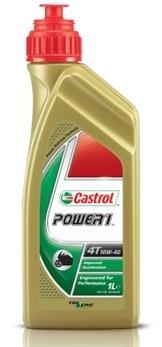 Motocyklový olej Castrol POWER1 1L 4T 10W40