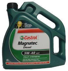 Motorový olej Castrol MAGNATEC DIESEL DPF 5W40 4L