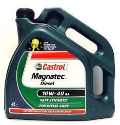 Motorový olej Castrol MAGNATEC DIESEL 10W40 B4 4L