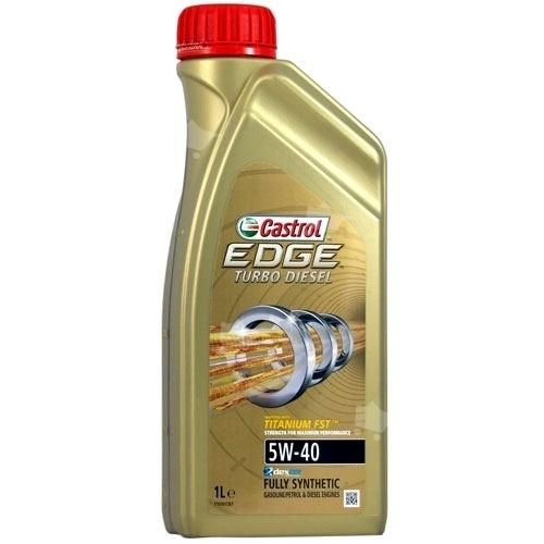 Motorový olej Castrol EDGE TURBO DIESEL 1L 5W40 TITANIUM FST
