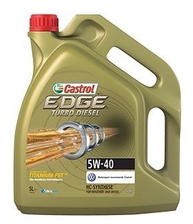 Motorový olej Castrol EDGE TURBO DIESEL 5W40 TITANIUM FST 4L
