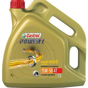 Motocyklový olej Castrol POWER1 15W50 4L