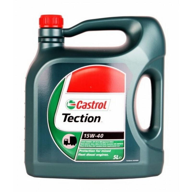 Motorový olej Castrol TECTION 15W40 5L