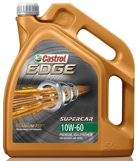 Motorový olej Castrol EDGE TITANIUM FST SUPERCAR 10W60 5L
