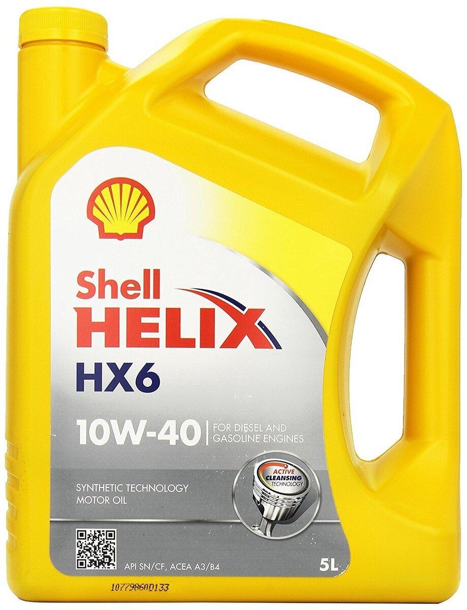 Motorový olej Shell Helix HX6 10W-40 4L