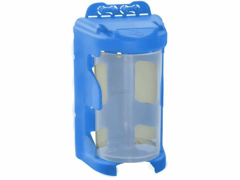 Organizér modulový závěsný, modrý, 210 ml (60 x 92 mm), PP - EXTOLCRAFT EX78912