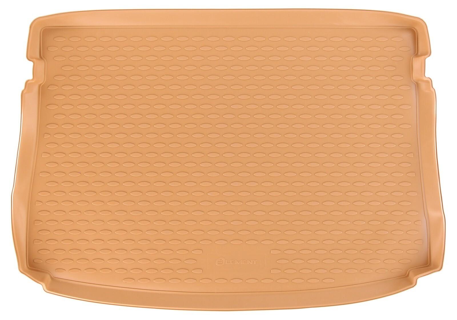 Vana do kufru gumová  VOLKSWAGEN Golf VII Hatchback béžová 2012-> SIXTOL