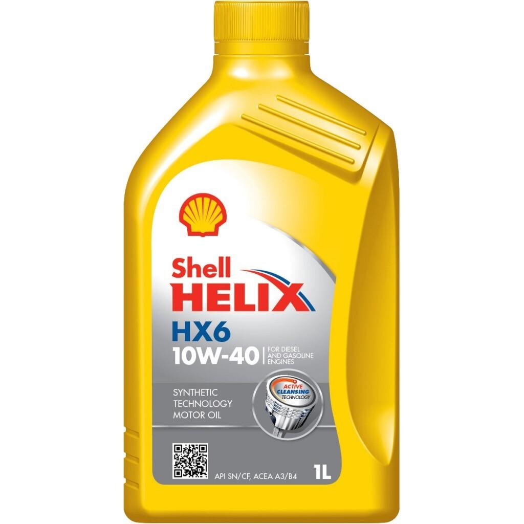 Motorový olej  HX6 10W-40 1L SHELL Helix