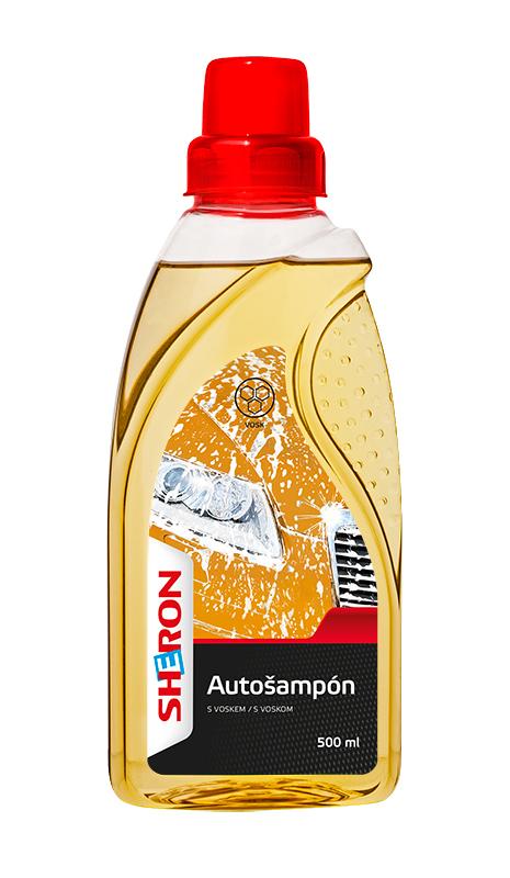 Autošampon s voskem 500 ml SHERON