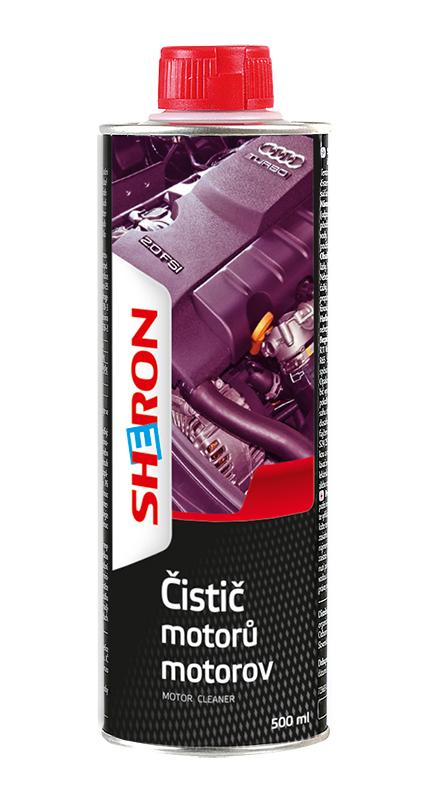 Čistič motorů 500 ml SHERON