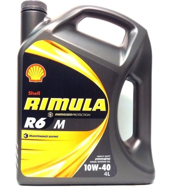 Motorový olej Shell Rimula R6 M 10W-40 4L