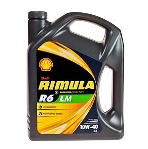 Motorový olej Shell Rimula R6 LM 10W-40 4L