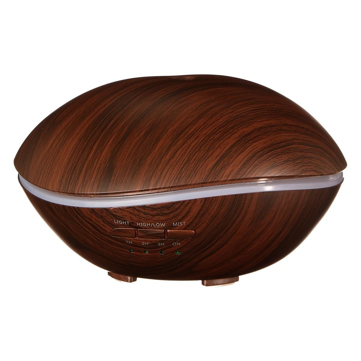 Aroma difuzér Stone, tmavé dřevo, 500 ml - SIXTOL