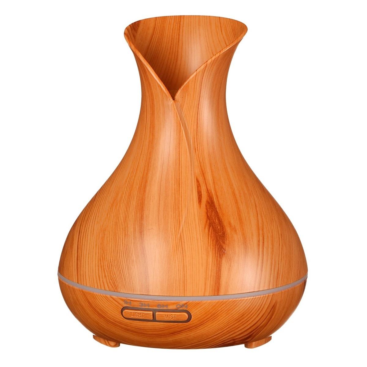 Aroma difuzér Vulcan 350 ml, světlé dřevo - SIXTOL
