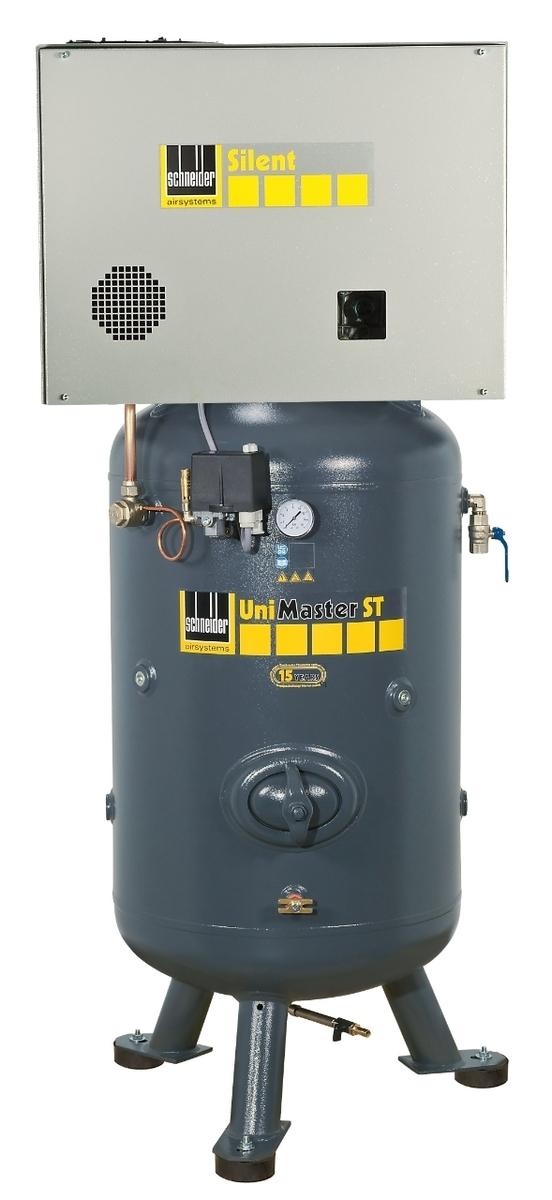 Kompresor stacionární 90 l 400 V, olejový dvouválcový - Schneider UNM STS 660-10-90