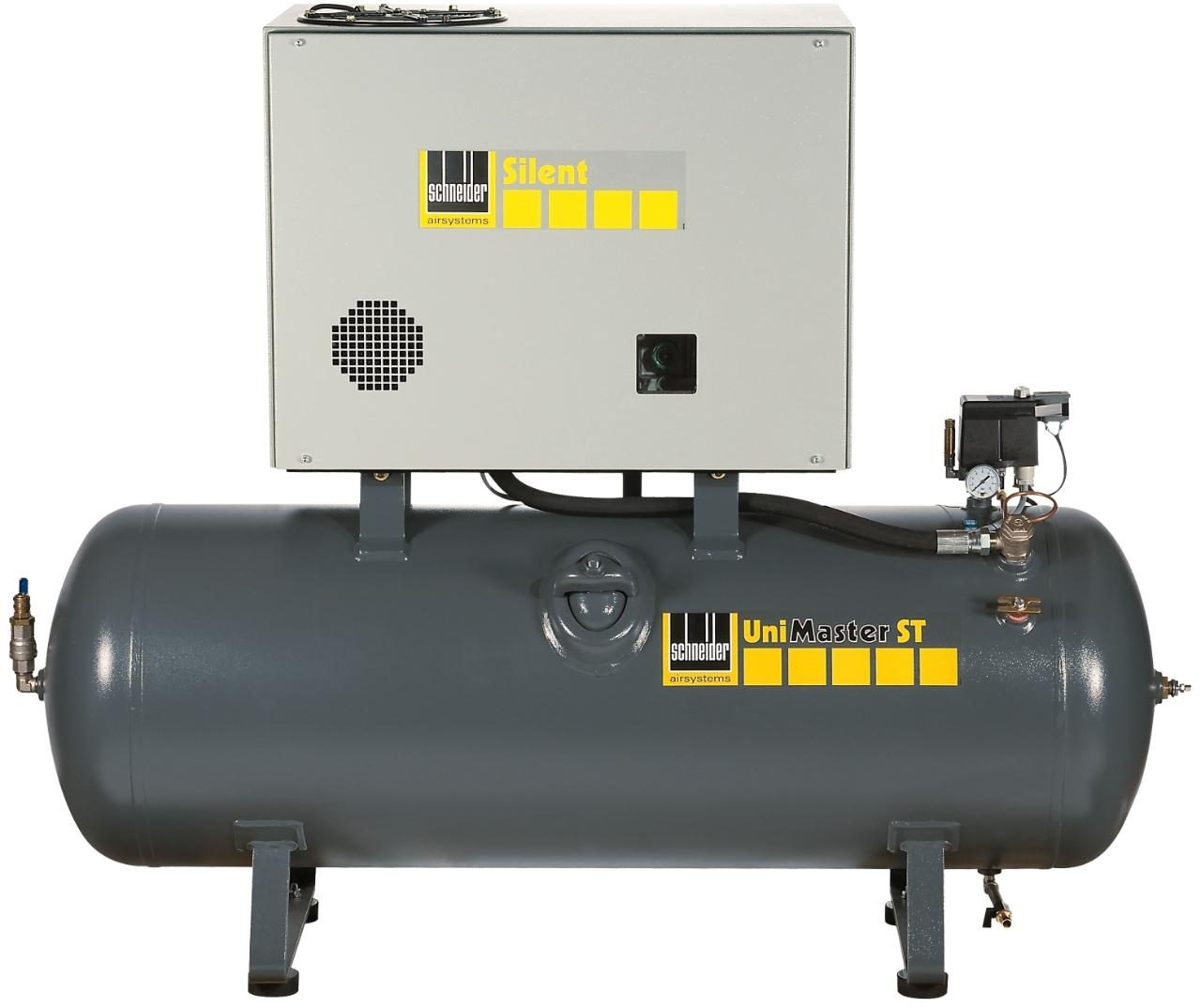 Kompresor stacionární 270 l 400 V, olejový dvouválcový - Schneider UNM STL 660-10-270