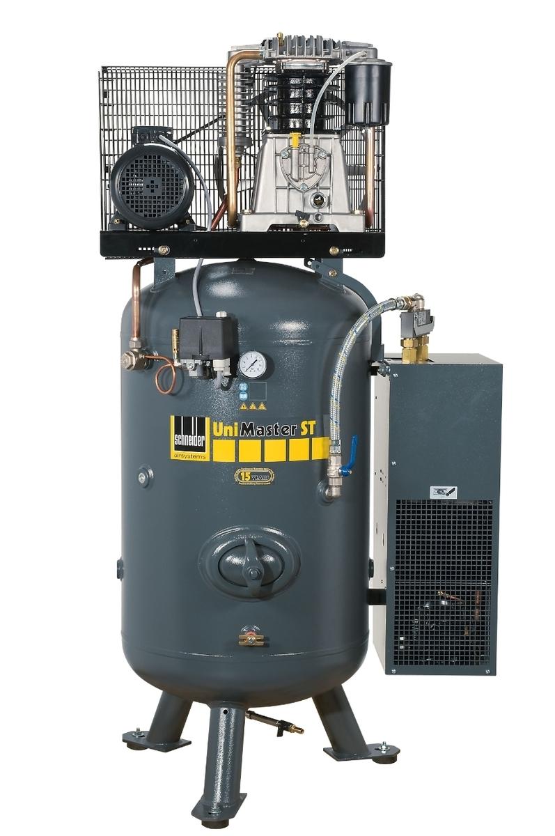 Kompresor stacionární 270 l 400 V, olejový dvouválcový - Schneider UNM STS 660-10-270