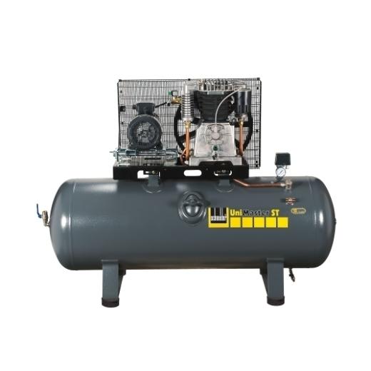 Kompresor stacionární 500 l 400 V, olejový dvouválcový - Schneider UNM STL 1000-15-500
