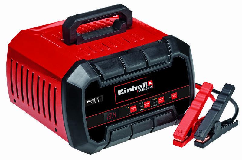 Nabíječka baterií 12/24 V 30 A, startovací zdroj 100 A - Einhell Expert CE-BC 30 M