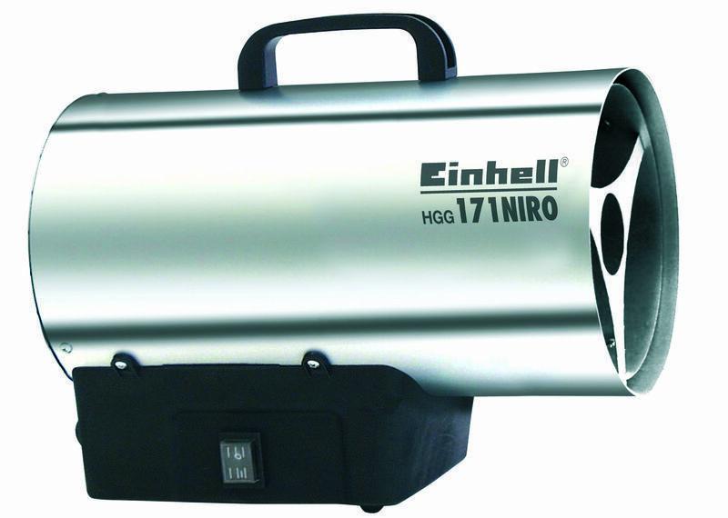 Plynové topidlo HGG 171 Niro (DE/AT) 17 kW, přenosné - Einhell Heating