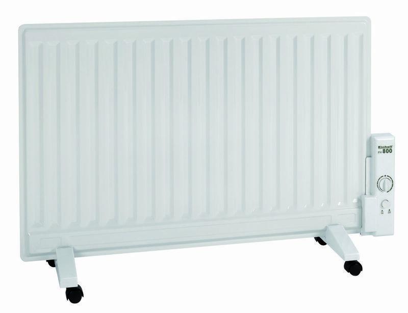 Olejový radiátor FH 800, elektrický 800 W, pojízdný - Einhell Heating