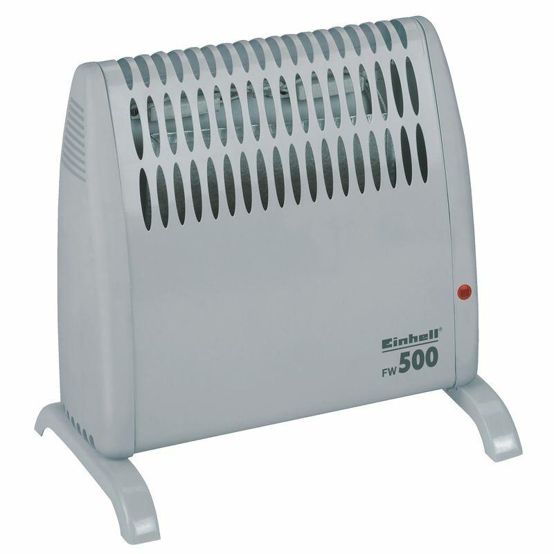 Konvektor - přímotop FW 500, elektrický 500 W, protimrazová ochrana - Einhell Heating