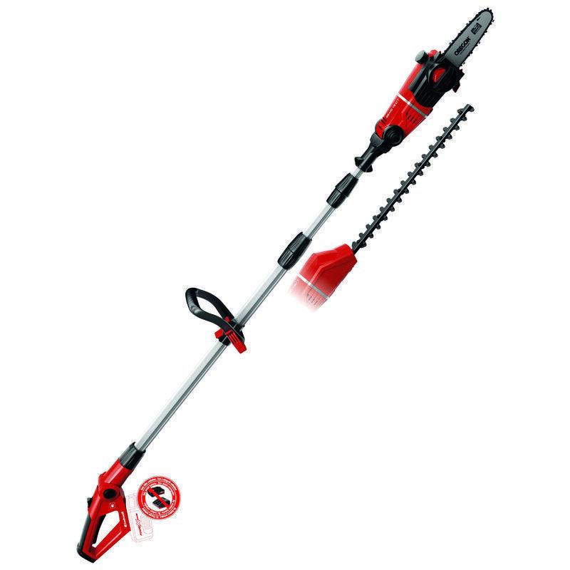 Aku nůžky na živý plot a prořezávací pila GE-HC 18 Li T-Solo, 1820 mm Einhell Expert Plus