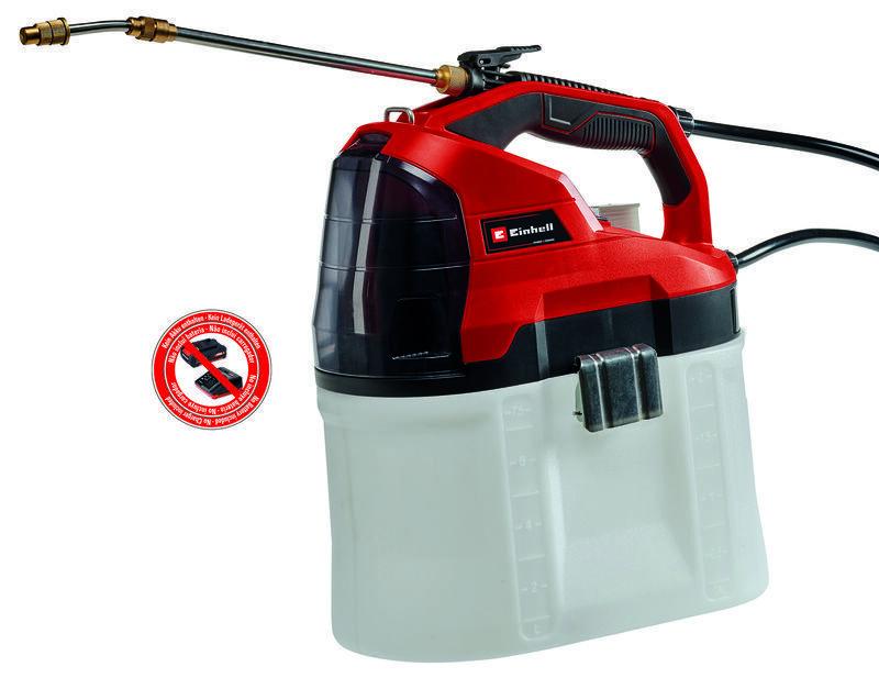 Aku tlakový postřikovač GE-WS 18/75 Li-Solo, nádrž 7.5 litru - Einhell Expert