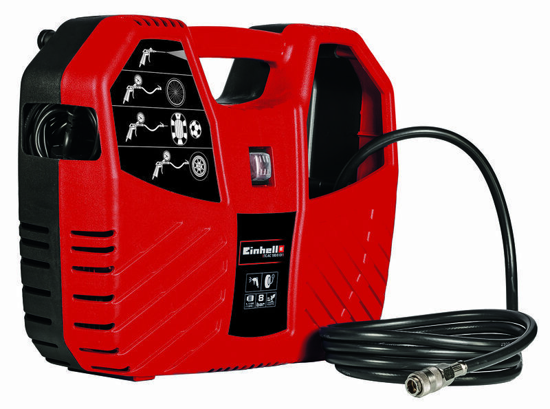 Vzduchový kompresor TC-AC 180/8 OF, 1válcový, 8 bar - Einhell Classic