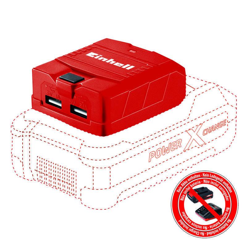 USB aku adaptér TE-CP 18 Li USB-Solo Power X-Change - Einhell Expert Plus