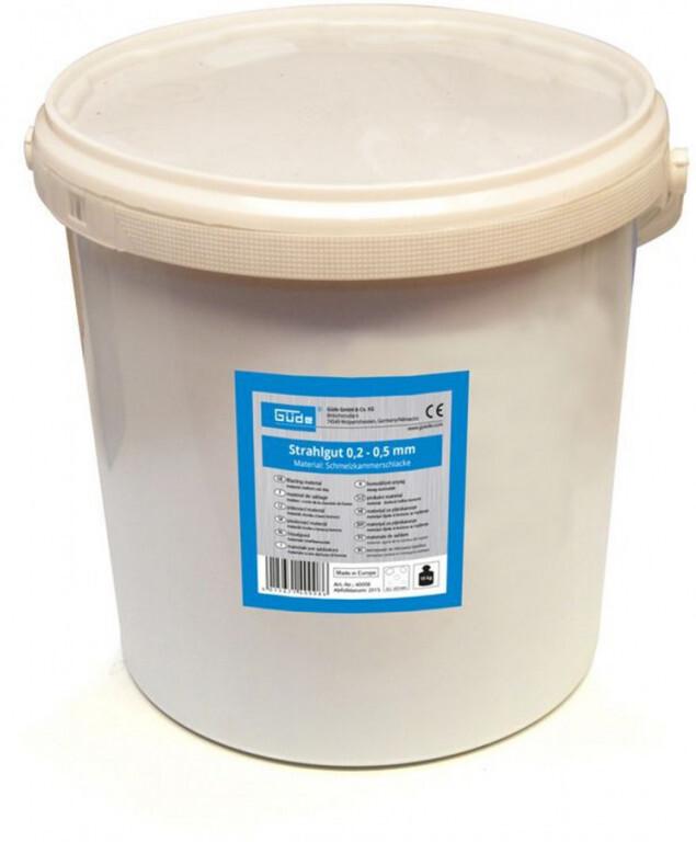 Abrazivo na pískování - struska, zrnitost 0,2-0,5 mm, balení 15 kg - Güde