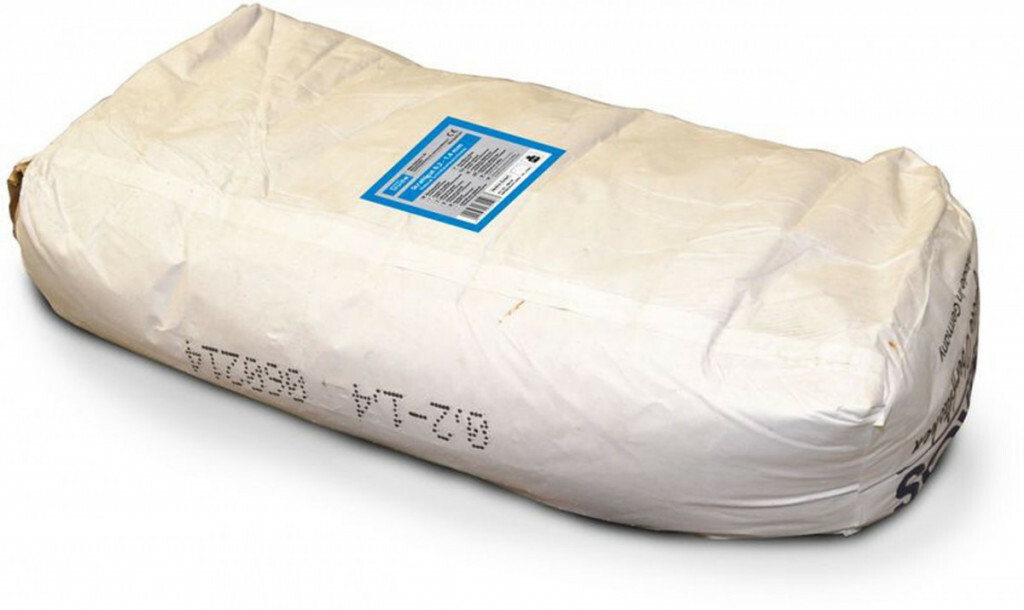Abrazivo na pískování - struska, zrnitost 0,2-1,4 mm, balení 25 kg - Güde