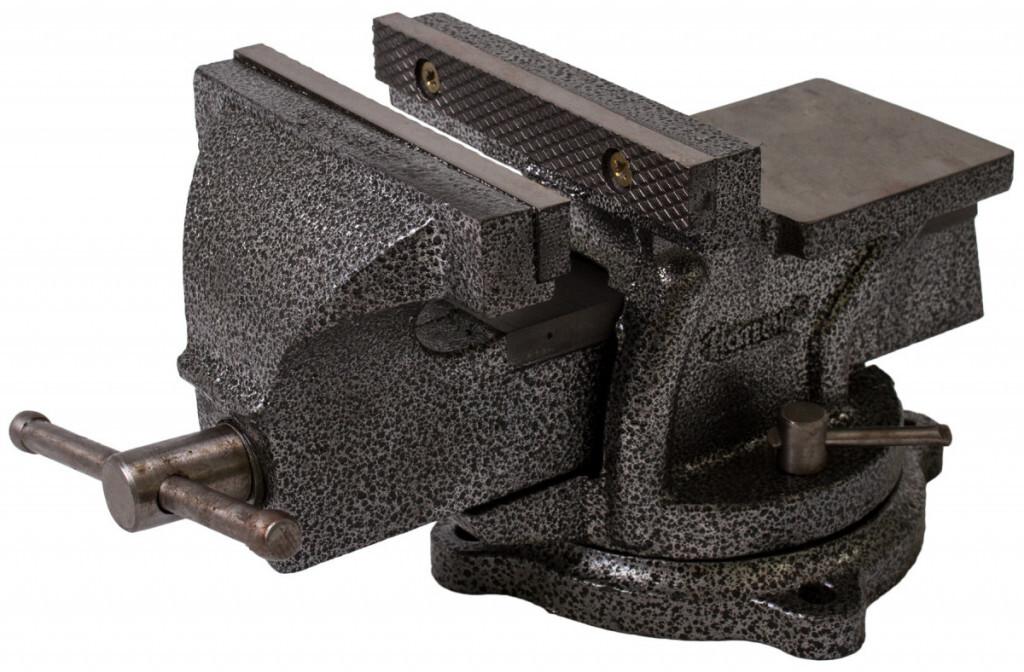 Dílenský svěrák 150 mm, otočný - HOTECHE