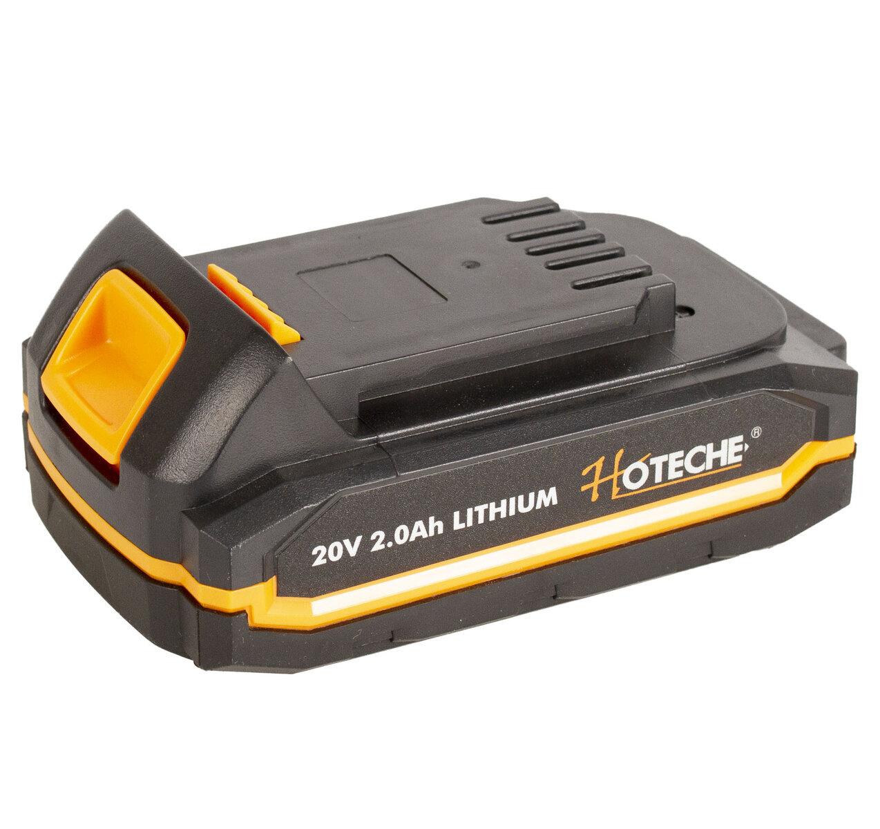 Náhradní baterie 2 Ah 20 V Li-ion, pro aku nářadí - HOTECHE