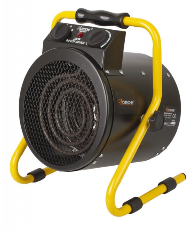Elektrický přímotop - teplovzdušný ventilátor 2000 W - HOTECHE
