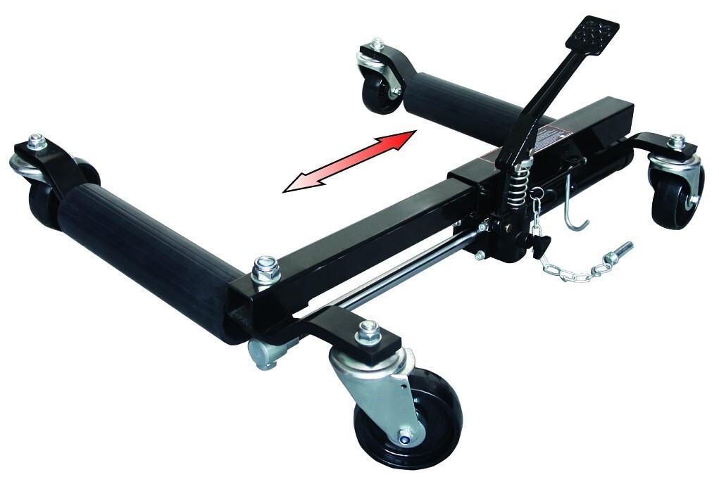 Kolový zvedák pro převoz automobilů, nosnost 680 kg, hydraulický