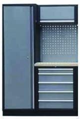 Sestava dílenského nábytku Procarosa PROFI XS-I Pracovní deska: dřevěná, Hmotnost: 130 kg