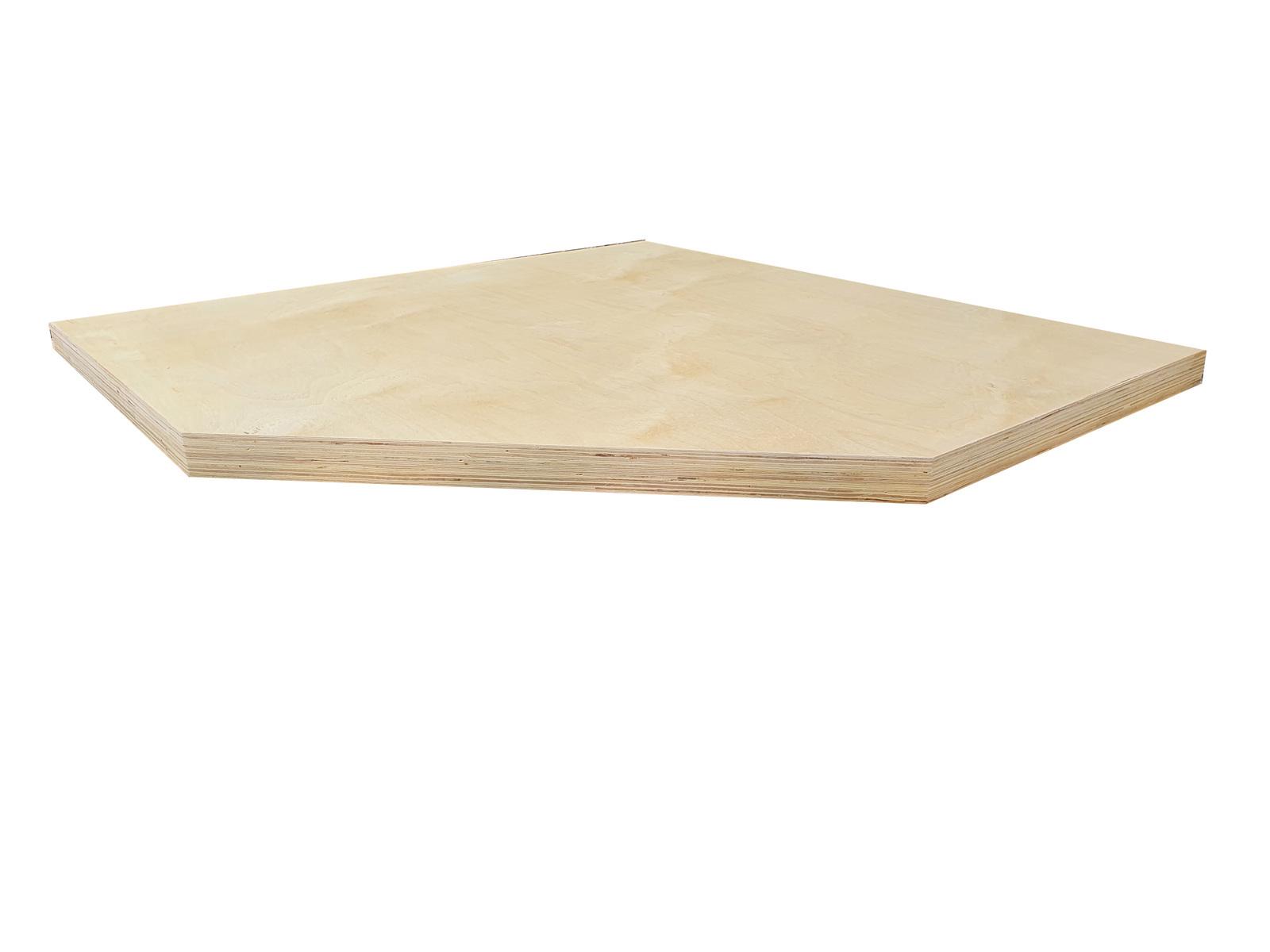 Rohová dřevěná pracovní deska Procarosa PROFI TGW-34