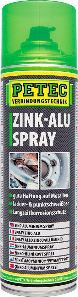 Mazivo se zinkem a aluminiem ve spreji 500 ml - Petec