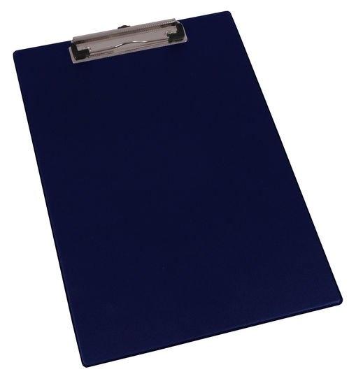 Podložka A4 na dokumenty, s klipem a háčkem, modrá