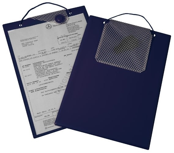 Desky na dokumenty A4 s magnetickým uzávěrem, modré - Magnetic 9219-00121