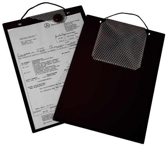 Desky na dokumenty A4 s magnetickým uzávěrem, černé - Magnetic 9219-00134