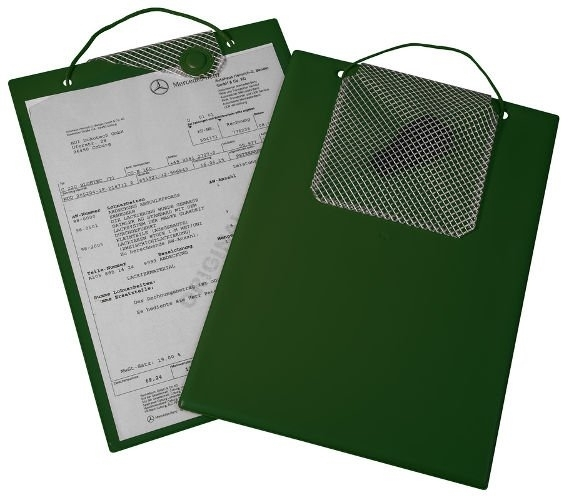 Desky na dokumenty A4 s magnetickým uzávěrem, zelené - Magnetic 9219-00139