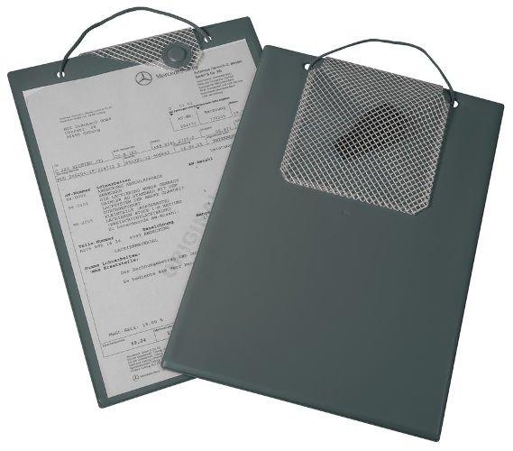Desky na dokumenty A4 s magnetickým uzávěrem, šedé - Magnetic 9219-0014