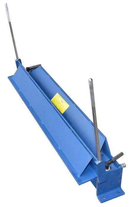 Ruční ohýbačka plechu, délka 1000mm, do 1,2mm tloušťky 120-0802